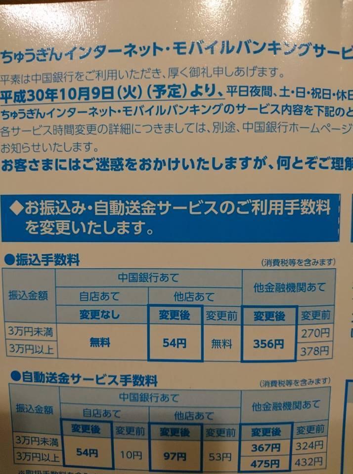 振込 手数料 銀行 中国